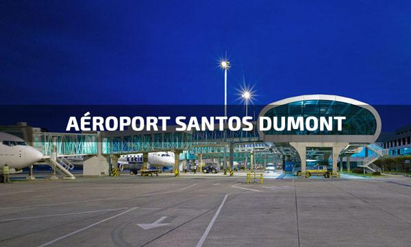 transfert aéroport santos dumont rio